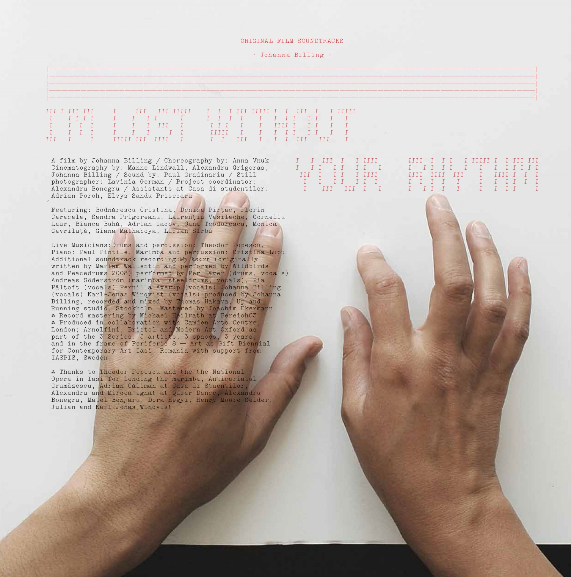 "Johanna Billing I'm Lost Without Your Rhythm — 12"" Vinyl, 2010"