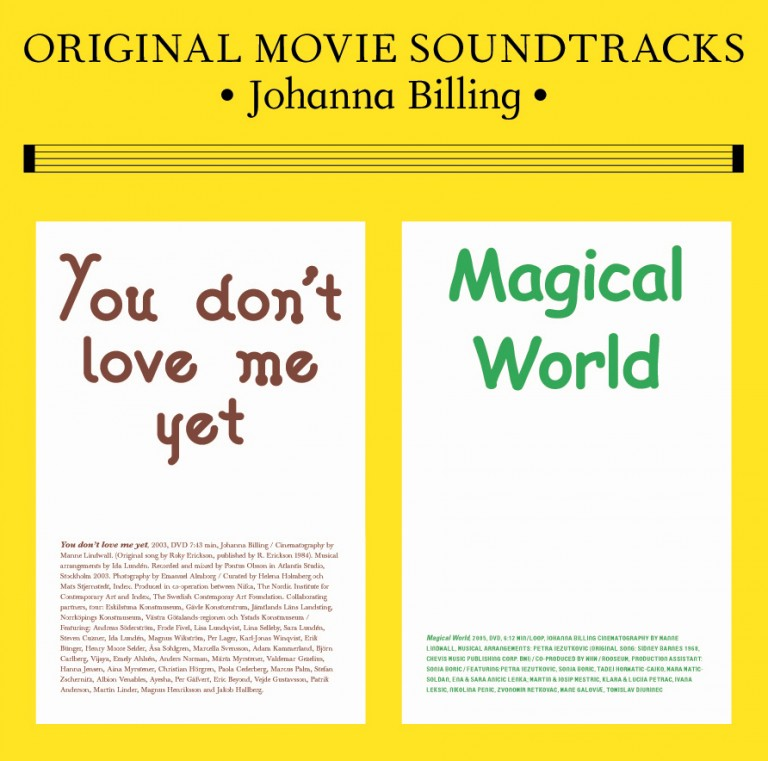 "Johanna Billing Magical World/You Don't Love Me Yet — 12"" Vinyl, 2007"