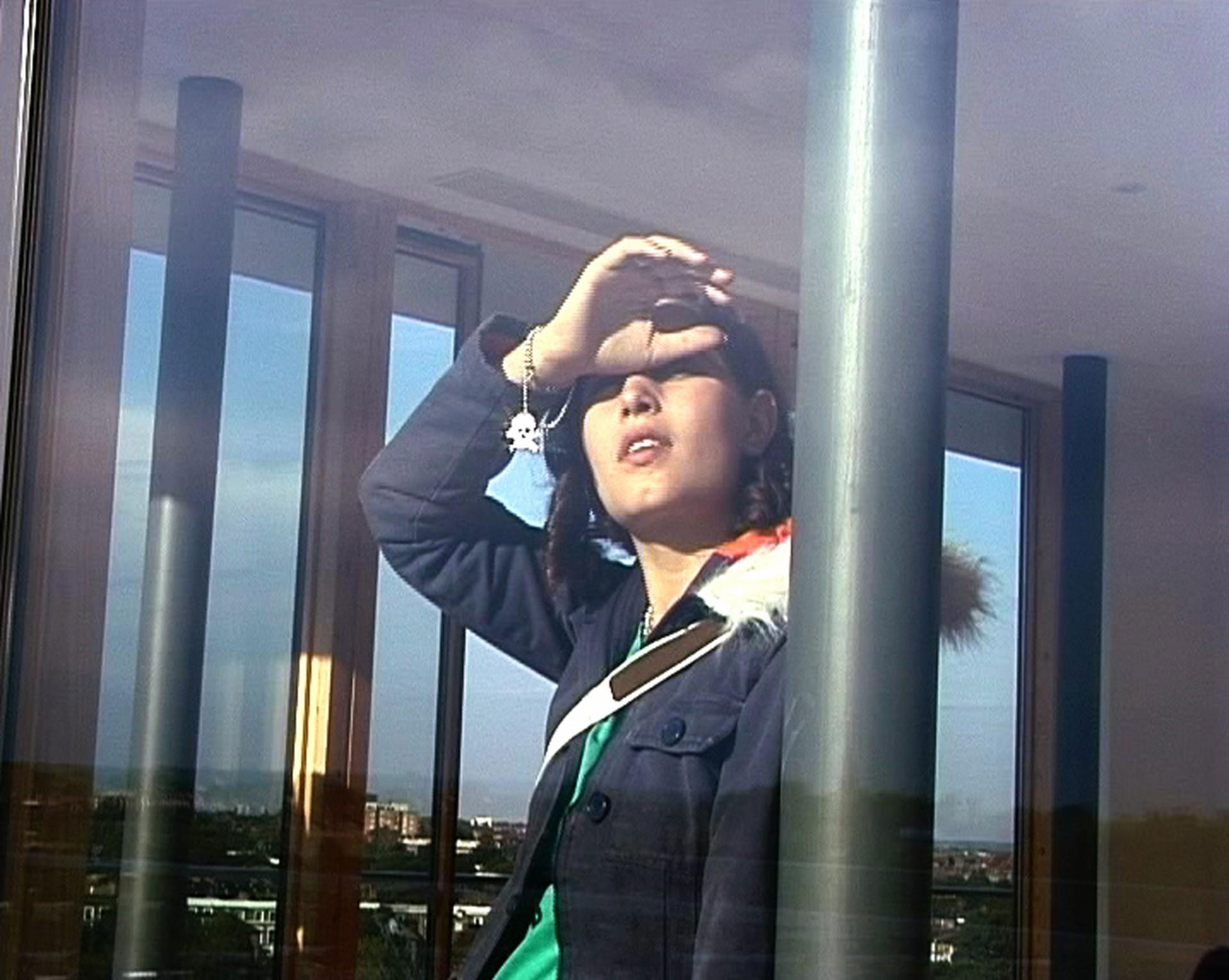 "Johanna Billing Look Out!, 2003, DV 5'20"" loop"