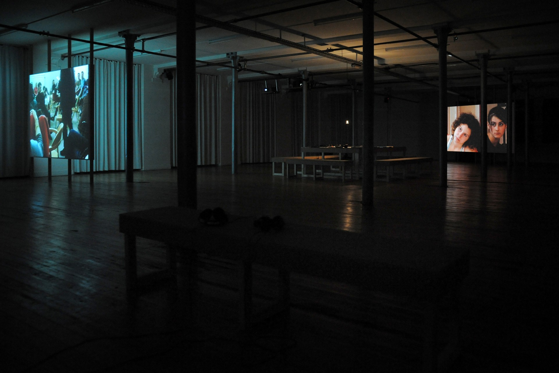 Johanna Billing I'm Lost Without Your Rhythm — Playground festival, Stuk, Leuven, 2010