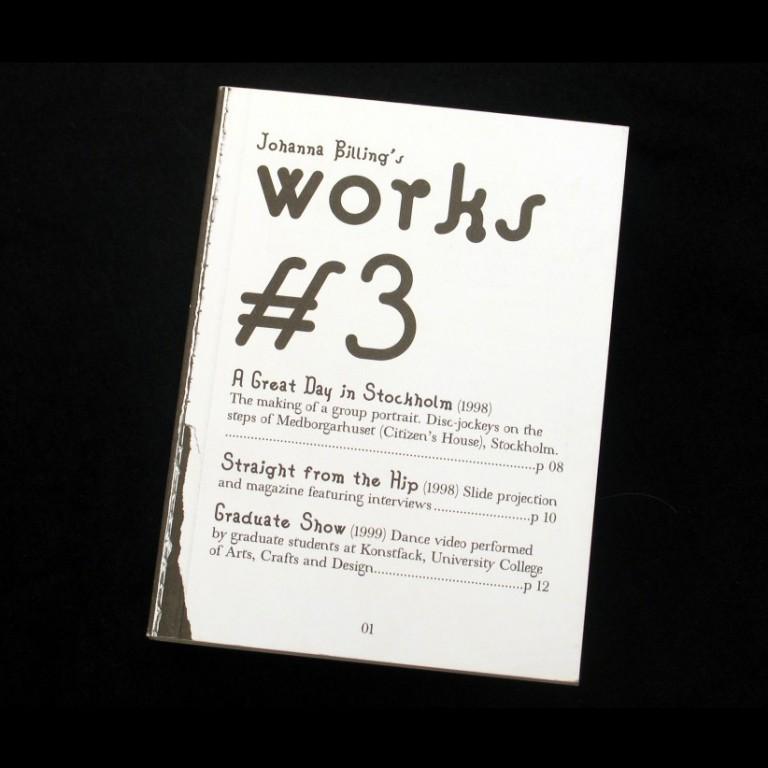 Johanna Billing Johanna Billing's Works #3 — Book, 2003