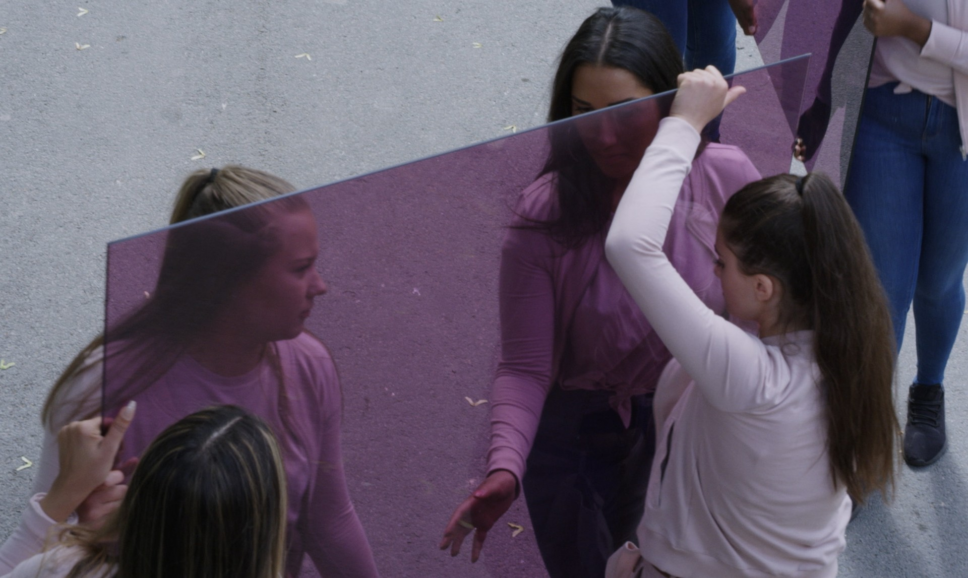 "Johanna Billing In Purple, 2019, HD 12,00"" loop"