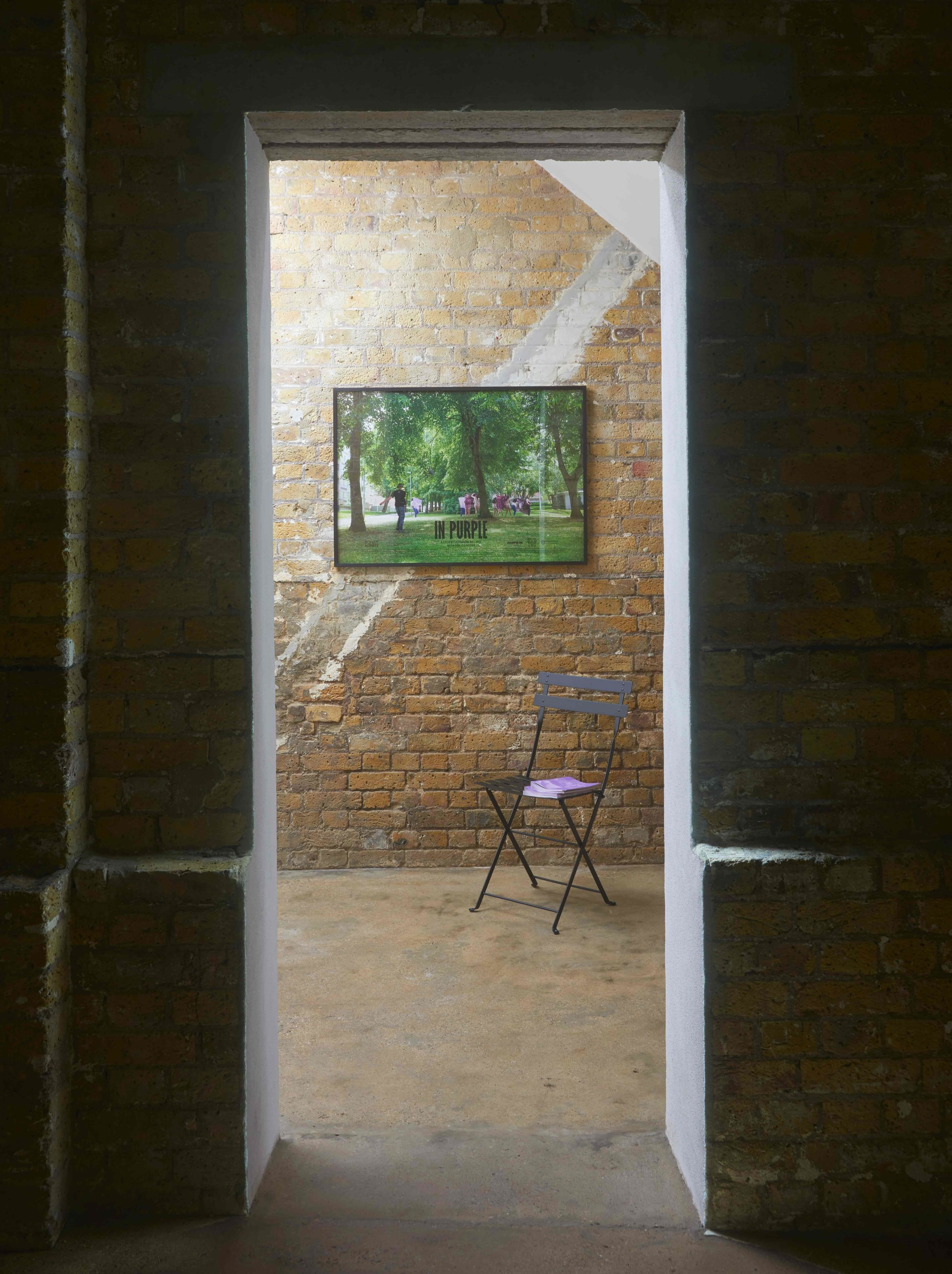 Johanna Billing In Purple — Hollybush Gardens, London, 2020